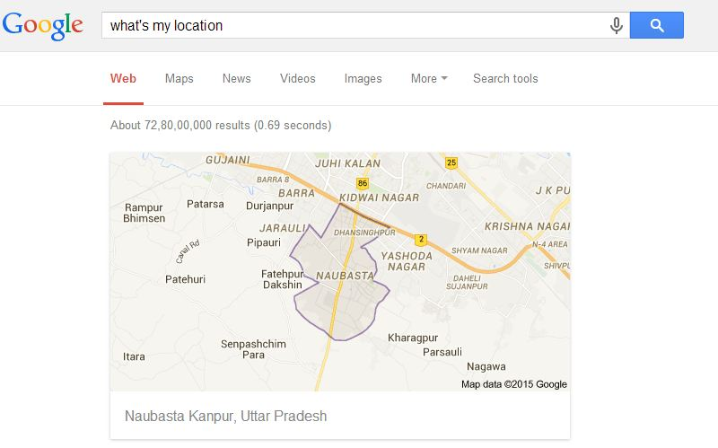location google