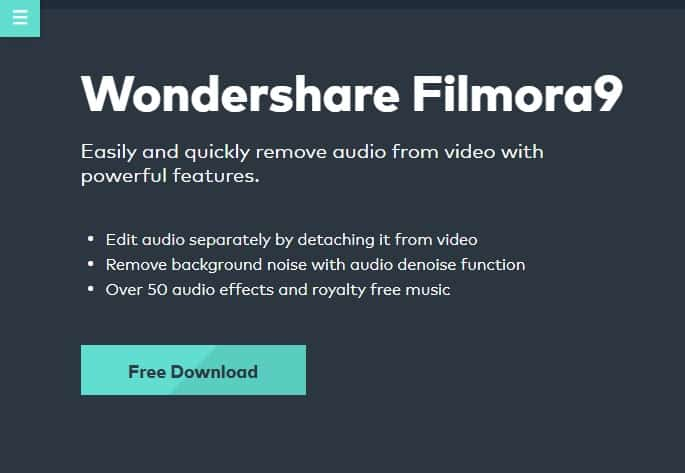 download the latest version of Wondershare Filmora