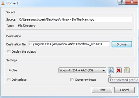 Removing Audio From Video -Windows