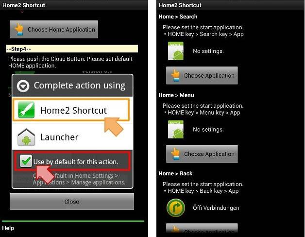 Re-configure Navigation Buttons In Android