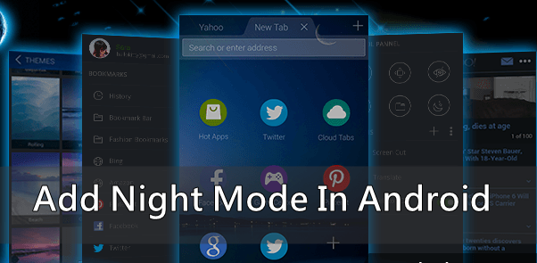 Add Night Mode Feature In Your Android