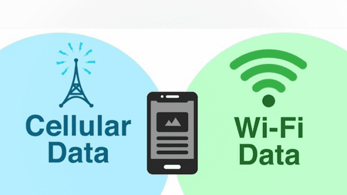 Use Both Data & Wifi at the same time