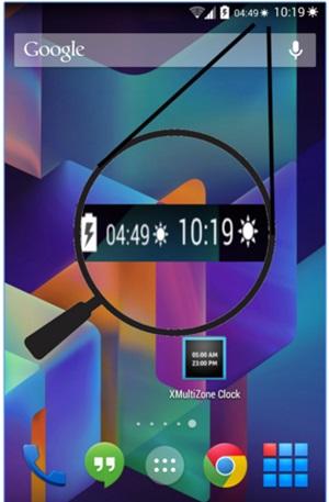 Display 2 Clocks with Different Timezones