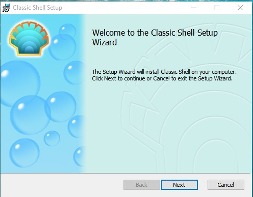 Install Classic Shell