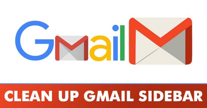 How To Clean up & Organize the Gmail Sidebar