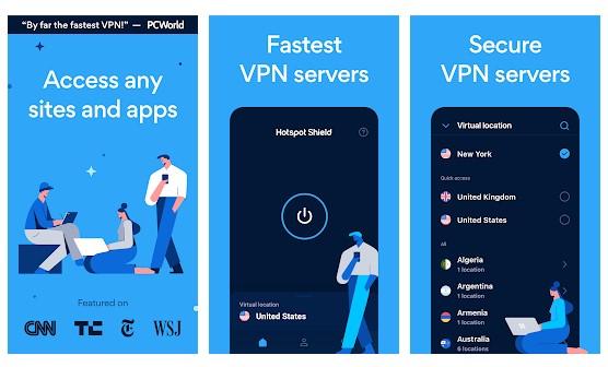 Hotspot Shield VPN & Proxy3