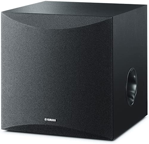 """Yamaha 8"""" 100W Powered Subwoofer NS-SW050BL review"""