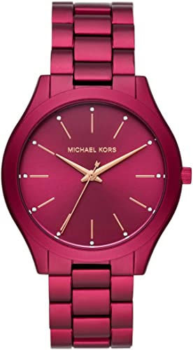 Michael Kors Slim Runway Three-Hand Watch review