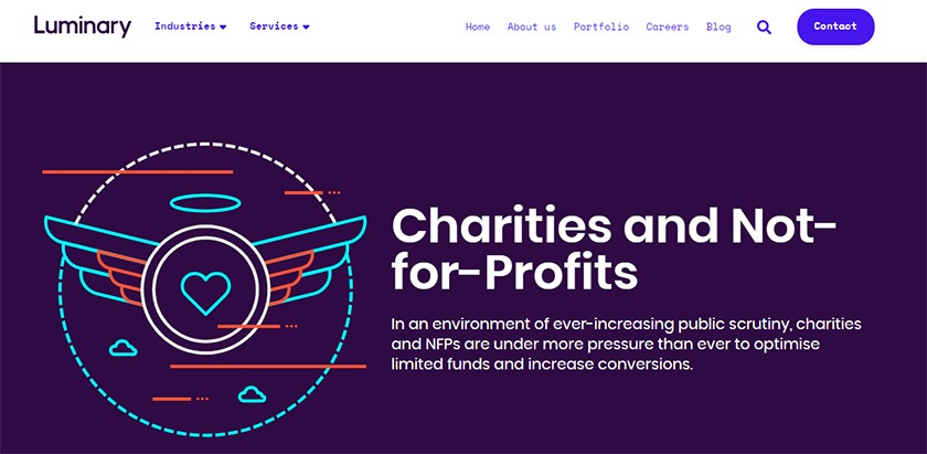 best-digital-agency-for-charities-and-nonprofits-luminary